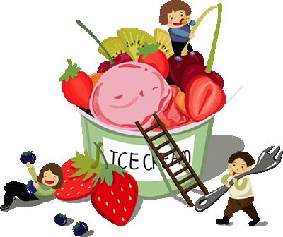 アイスクリーム完成